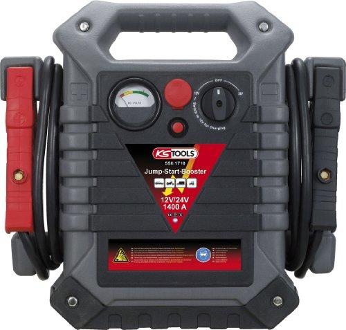 ks tools 550 1720 12 v 24 v batterie booster mobiles starthilfegeraet 1400 a - KS Tools 550.1720 12 V + 24 V Batterie-Booster, mobiles Starthilfegerät 1400 A
