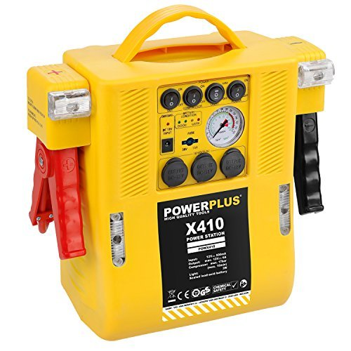 powerplus starthilfe powx410 multifunktionsgeraet 4 in 1 12 v - Powerplus Starthilfe POWX410, Multifunktionsgerät, 4-in-1, 12 V