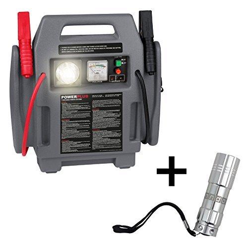 powerstation 4 in 1 starthilfe kompressor notleuchte anndora led taschenlampe - Powerstation 4 in 1 Starthilfe Kompressor Notleuchte + anndora LED-Taschenlampe